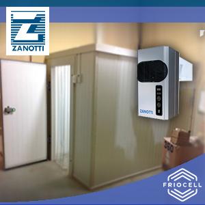 Cuarto Fío o Cámara de Refrigeración para conservación de productos